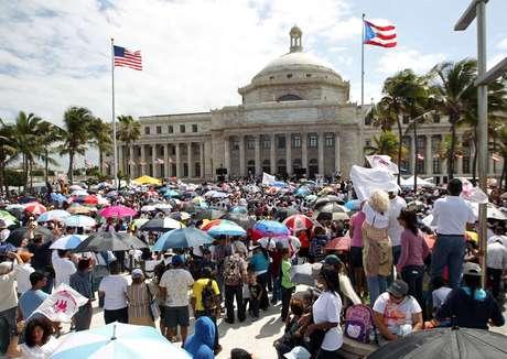 <p>El pasado 18 de febrero de 2013 tuvo una lugar una manifestación frente al Capitolio en contra de las leyes para otorgar más derechos a los homosexuales.</p>