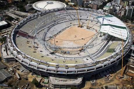 <p>Palco da final da Copa das Confederações, Maracanã terá o evento-teste mais tardio, em 2 de junho</p>