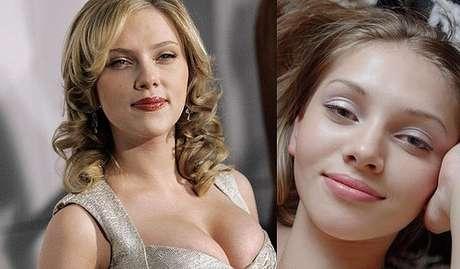 <p>La belleza y la elegancia de las actrices de Hollywood contrasta con la imagen agresiva de las actrices porno. Pero en más de una ocasión, la belleza de una imita o sobrepasa a la otra. Esta es una lista de los clones porno de las famosas de Hollywood. Scarlett Johansson y la actriz de X-Art, Amanda.<br /></p>