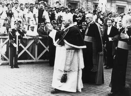 Angelo Giuseppe Roncalli, o Papa João XXIII, último pontífice a usar a alcunha pontifical mais repetida na história
