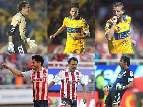<p>Descubre a los jugadores a seguir del partido entre Tigres y Chivas</p>