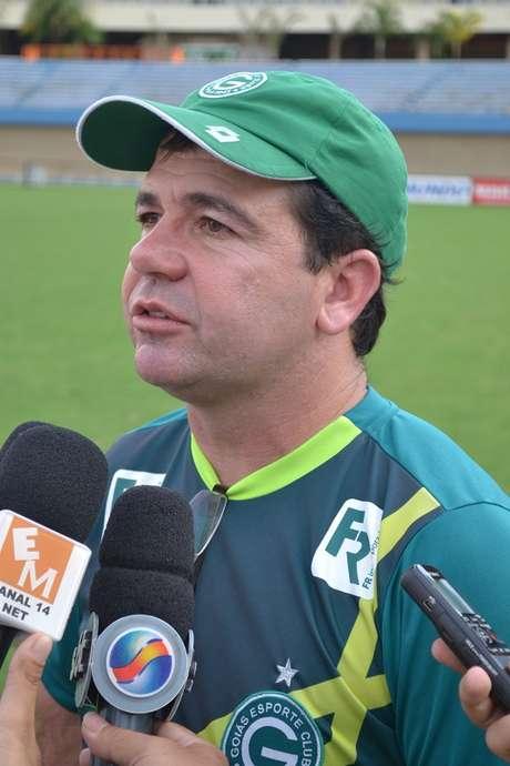 Enderson Moreira aprovou o desempenho do Goiás