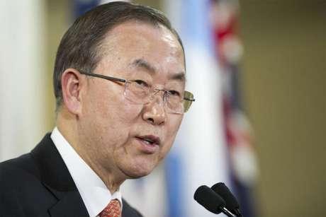 Ban Ki-moon felicitó al papa Francisco.