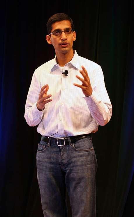 <p>Sundar Pichai, novo responsável pelo Android</p>