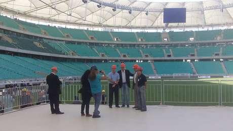 A Arena Fonte Nova receberá três partidas da Copa das Confederações