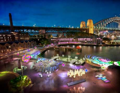 """<p>Australia ocupa el segundo lugar en el índice de desarrollo humano de la ONU. La clasificación tiene en cuenta tres dimensiones, según el PNUD: """"Vida larga y saludable, conocimientos y nivel de vida digno"""". En esta imagen, una visión de iluminación a través de puerto de Sydney, el mayor festival de luces en el hemisferio sur con más de 60 instalaciones.</p>"""