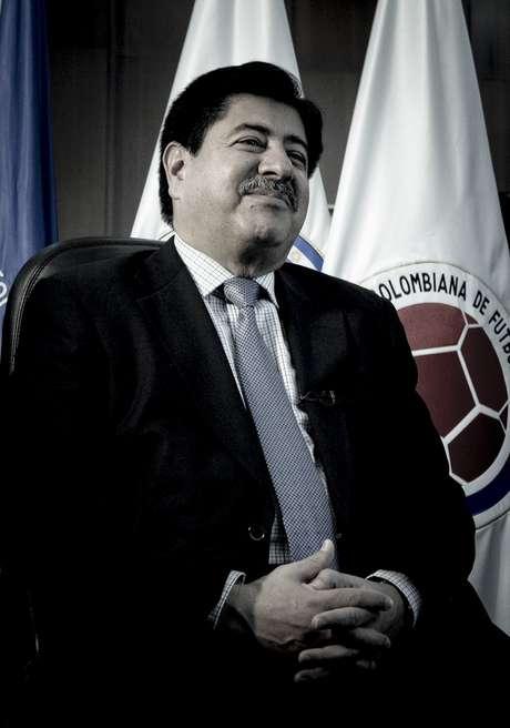 <p>Luis Bedoya, presidente de la Federación Colombiana de Fútbol.</p>