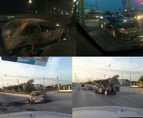 Usuarios de redes sociales compartieron el domingo testimonios de lo ocurrido tras la refirega en Reynosa, Tamaulipas.