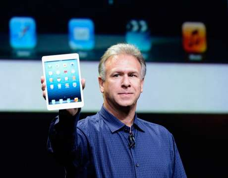 Phil Schiller, durante o lançamento do iPad mini
