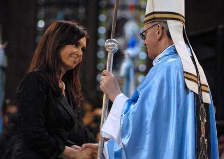 <p>Hoy papa, Bergoglio ha sido un crítico severo del gobierno de Cristina Kirchner</p>