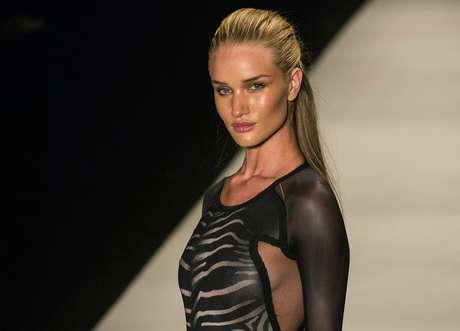 La modelo inglesa Rosie Huntington-Whiteley fue la estrella de Animale en la edición 2012