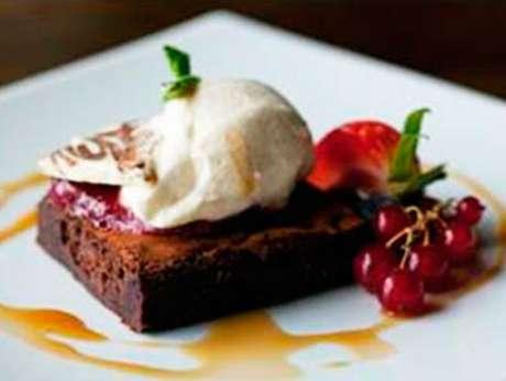 Un delicioso postre de chocolate que endulzará tu día