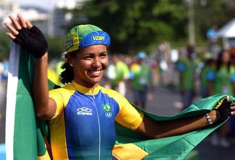 <p>Clemilda representou o Brasil no Pan de 2007</p>