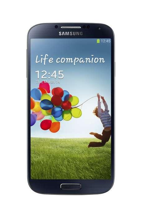 <p>Galaxy S4 tem tela de cinco polegadas</p>