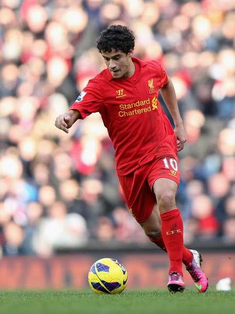 <p>Philippe Coutinho vive ótima fase no Liverpool</p>