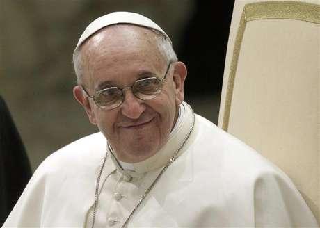 <p>Papa Francisco conduziu audiência geral para integrantes da mídia, no Vaticano, neste sábado</p>