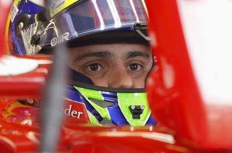 <p>Felipe Massa correu bem na chuva e terminou com o terceiro melhor tempo</p>