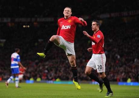 Wayne Rooney marcó el solitario gol para los Red Devils.