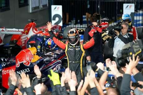 Kimi Raikkonen es el primer líder de la Fórmula 1 tras ganar el Gran Premio de Australia.