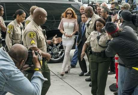 <p>Lindsay Lohan tendrá que rehabilitarse</p>