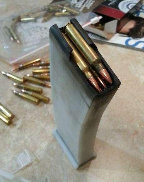 Último teste foi com arma capaz de disparar mais de 600 balas
