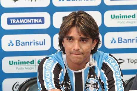<p>Marcelo Moreno tem situação delicada no Grêmio</p>