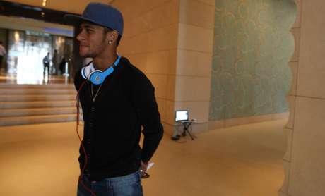 <p>Neymar assumiu namoro com atriz Bruna Marquezine</p>