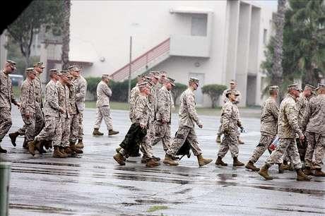 Siete marines mueren durante unas maniobras con fuego real en EE.UU.