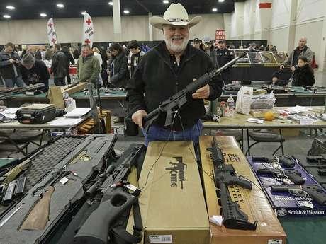 Venta de armas en EEUU.