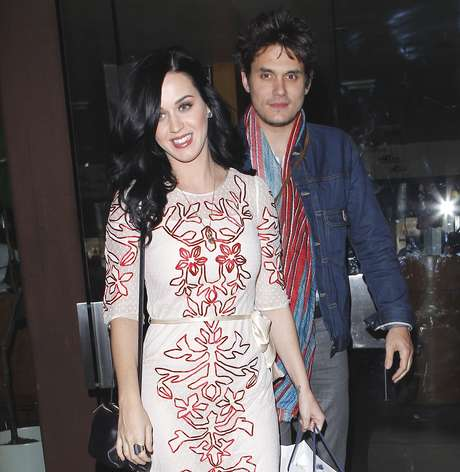 Katy Perry y John Mayer.