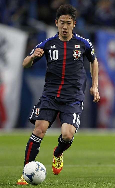 Kagawa é o jogador mais badalado da seleção japonesa