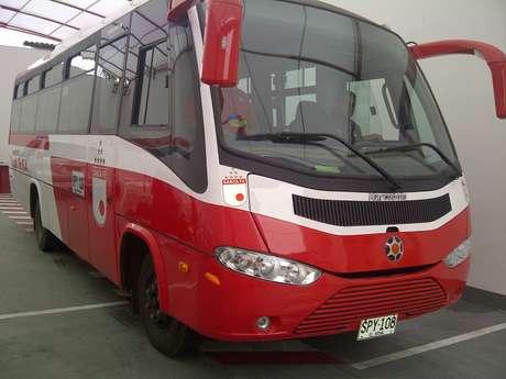 <p>Este es el nuevo bus que adquirió Independiente Santa Fe, para el transporte de sus Divisiones Menores o el equipo visitante con el que rivalice.</p>