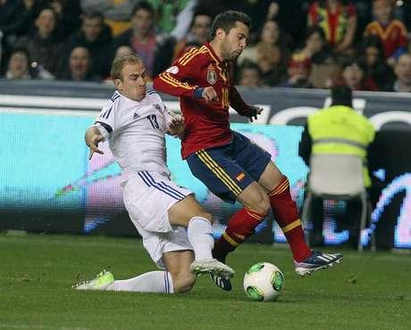 <p>Alba dejó el terreno de juego al minuto 81 de acción por presentar dolencias.</p>