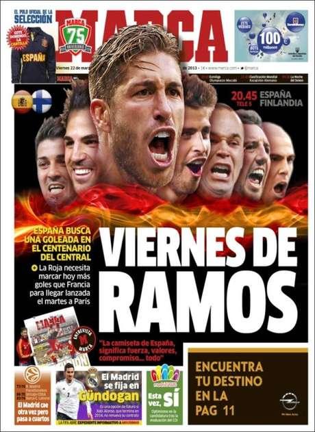 La selección y los futuribles del Barça, en portada