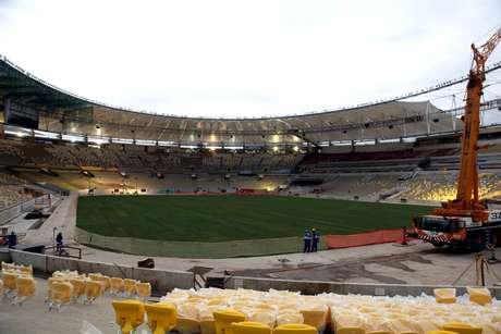<p>Maracanã é o estádio com maior procura de ingressos</p>