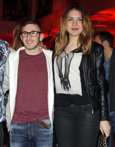 <p>Ya no esconden su relación y no ocultan su amor. <strong>Andrea Guasch</strong>, exnovia de Alejandro Lecquio y David Castillo, Jonathan de la serie 'Aída' acudieron juntos a una fiesta de Edun-Diesel en Madrid.</p>