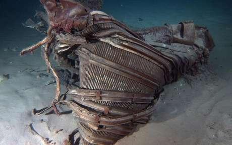 <p>Restos del cohete Apolo 11, que puso al hombre en la Luna por primera vez hace 40 años, fueron rescatados desde el fondo del océano.</p>