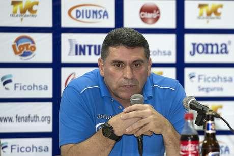Luis Fernando Suárez, DT de Honduras