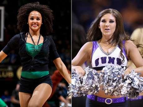 <p>Hermosas porristas animaron los juegos de marzo en la temporada 2012-13 de la NBA.</p>