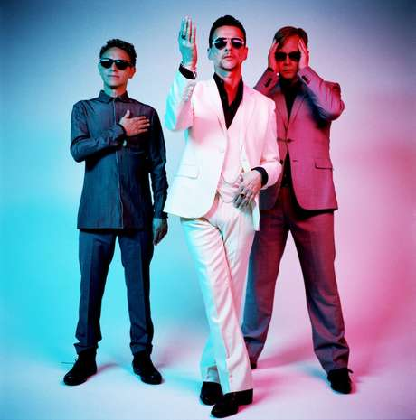 <p>Los componentes de Depeche Mode</p>