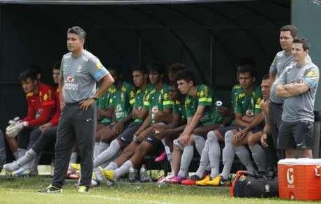 Alexandre Gallo estreia pela Seleção Sub-17 no Sul-Americano