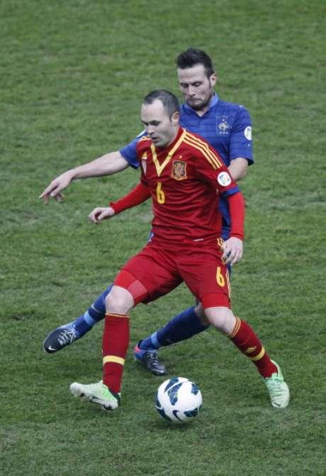 <p>El centrocampista de la selección española, Andrés Iniesta</p>