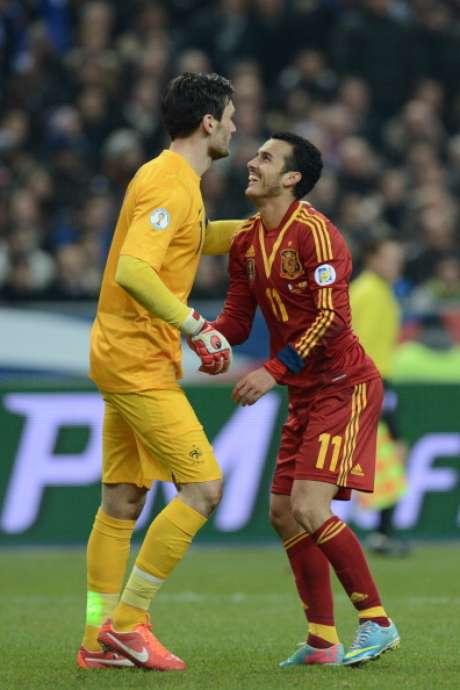 Francia y España se juegan en el estadio Saint-Denis el primer puesto en el Grupo de clasificación para el próximo Mundial de Brasil 2014