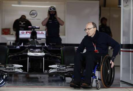 El dueño de la escudería Williams, Frank Williams