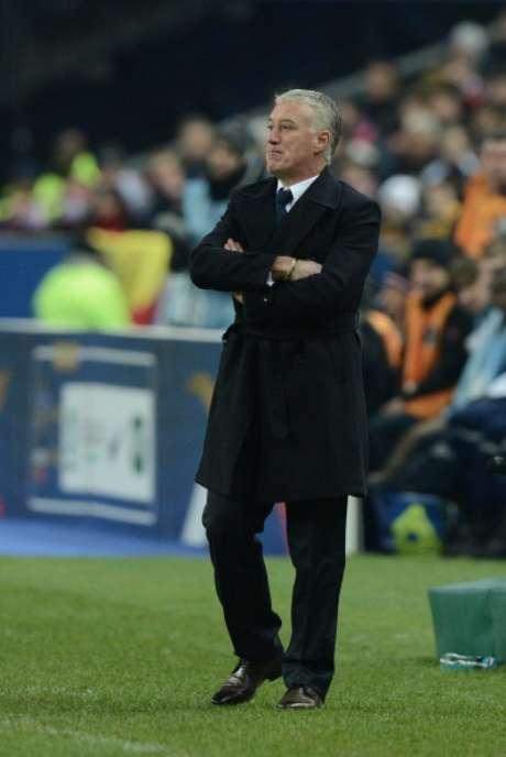 Didier Deschamps, durante el partido ante España