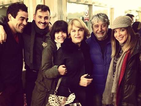 Los actores y la directora de 'La que se avecina'.