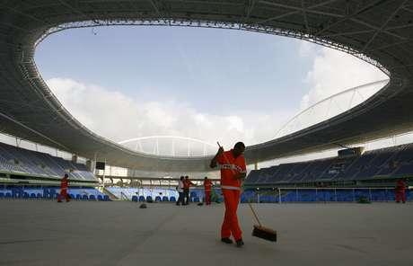 El estadio Olímpico de Río ha sido clausurado hasta que las fallas sean arregladas.