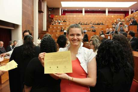Adriana Konzen foi para Portugal fazer graduação-sanduíche na Universidade de Coimbra