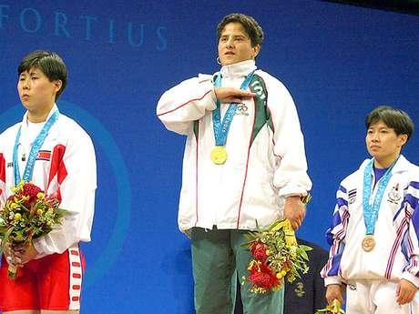Soraya Jiménez, fue la primera atleta mexicana en ganar una medalla de Oro en unos Juegos Olímpicos, en Sydney 2000.