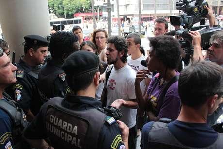 Presidente municipal do Psol, Bernardo Correa, e Luany Barros e Xavier, coordenadora do DCE, não conseguiram participar do encontro